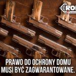 Mieszkaniec Krakowian gm. Nadarzyn, użył broni palnej w obronie domu po wdarciu się łobuza na jego posesję – poszukuję informacji o tym co dalej