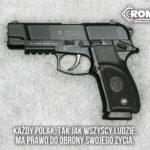 Broń do ochrony osobistej, ideologiczna deklaracja