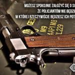 Sprawcy kryminalnych przestępstw posiadają nielegalnie broń, praworządny obywatel (ofiara przestępstwa) pozostaje bezbronny