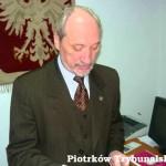 Antoni Macierewicz o broni palnej.