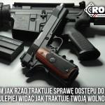 Czy w Polsce przestępca, który wymierza w kierunku obywatela broń, musi liczyć się z pozbawieniem życia?