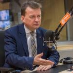 Mariusz Błaszczak o małym ruchu granicznym z Rosją: wybieramy bezpieczeństwo.