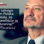 Co takiego wam Polacy zrobili, że pozostawiacie ich bezbronnymi?