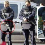 W Niemczech niektóre policyjne patrole mają pistolety bez amunicji.