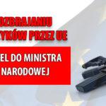 Stop rozbrajaniu Europejczyków! Podpisz apel do ministra obrony narodowej.