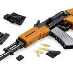 Gunblx czyli karabiny i pistolety zbudowane z klocków takich jak Lego.