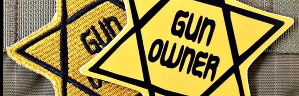 Znak posiadacza broni palnej w Europie w 2017 roku.