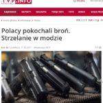 tvp.info o miłości Polaków do broni