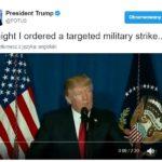 Amerykańskie rakiety Tomahawk doszczętnie zniszczyły wojskowe lotnisko w Syrii