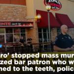 """Z cyklu """"broń ratuje życie"""": uzbrojony Teksańczyk powstrzymał masowe morderstwo"""