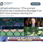 """""""Przestępca z bronią ma potężną przewagę, jeżeli nie możemy mu odpowiedzieć strzelając do niego"""" – to reakcje w Ameryce, po strzałach do republikańskich kongresmenów"""