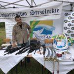 Wystawa broni Towarzystwa Strzeleckiego w Komorowie, gmina Polanów