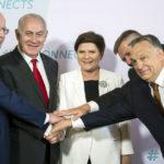 Spotkanie szefów rządów Grupy Wyszehradzkiej z premierem Izraela