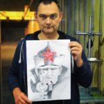 Obywatelski obowiązek spełniony, 10 strzałów ku chwale Ojczyzny w kierunku tarczy z bolszewikiem zostało oddanych