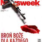 Kupiłem Newsweek, przeczytałem teksty o broni, krwawe obrazy mające budzić emocje i nieszczególna treść