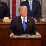 Prezydent Donald Trump w orędziu o stanie Ameryki: bronimy przed rządem prawa obywateli do posiadania i noszenia broni