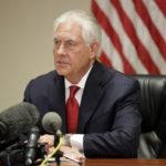 Tillerson: Rosja odpowiedzialna za użycie broni chemicznej w Syrii