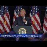 Prezydent Donald Trump: USA to kraj ludzi wierzących Bogu