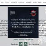 Pro Defence 2018 Targi Proobronne w Ostródzie nie odbędą się – następuje konsekwentna likwidacja tego co rozpoczął Antoni Macierewicz