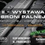 Stowarzyszenie Kochambroń.pl zaprasza na Wystawę Broni Palnej w Krakowie – 10 czerwca 2018 r.