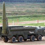 Rosyjskie rakiety Iskander w służbie mundialu