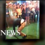 Podczas popisów tanecznych funkcjonariuszowi FBI wypadła broń, a później padł niekontrolowany strzał