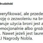 Szef MSWiA oświadczył publicznie, że Policja zobowiązana jest cofnąć pozwolenie na broń Lechowi Wałęsie – to moim zdaniem niedopuszczalne