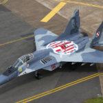 W okolicach Pasłęka rozbił się wojskowy MIG-29, pilot nie żyje