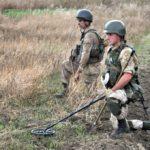 Rosjanie stosują miny przeciwpiechotne w Donbasie