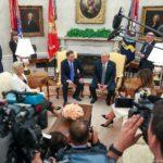 Prezydent Trump podczas konferencji z prezydentem Dudą nazwał złodziejami najważniejszych sojuszników PiS – komunistyczne Chiny i taką samą Unię Europejską