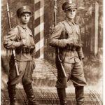 Na defiladach Straż Graniczna z Mauserami