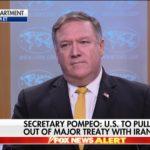 Pompeo: USA zrywają umowę o dobrych stosunkach z Iranem z 1955 roku; widzimy rękę ajatollaha Alego Chameneia i jego katów w atakach na USA