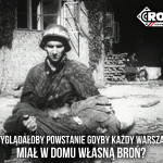 W rocznicę wybuchu Powstania Warszawskiego nie zapominajmy, że celem wojny nie jest oddanie życia za Ojczyznę, celem wojny jest zabijanie wrogów dla Ojczyzny.