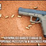 Z cyklu policja nie zapewniła bezpieczeństwa: w Stalowej Woli do dwóch mężczyzn idących chodnikiem oddano kilka strzałów z samochodu