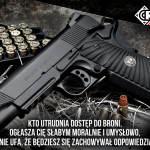 Broń do ochrony osobistej, polityka czy wykonywanie prawa?