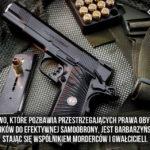 Złe prawo powstrzymuje uzasadnione przypadki użycia broni do samoobrony