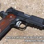 Z cyklu broń ratuje życie: domownik broni się przed dwoma włamywaczami, obaj giną