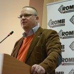 Redaktor Łukasz Warzecha na Konwencji Programowej ROMB.