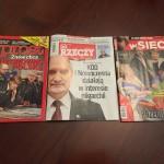W poczytnych, ogólnopolskich czasopismach, Ruch Obywatelski Miłośników Broni zamieścił reklamy.
