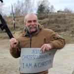 Sam Childers, protestancki kaznodzieja z karabinem jest w Polsce i został na strzelnicy powitany przez ROMB.