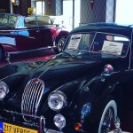 W muzeum samochodów.