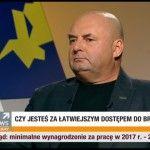 Artur Jabłoński członek zarządu ROMB w programie Tak czy Nie.