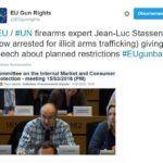 Ekspert Komisji Europejskiej aresztowany za nielegalny handel bronią.