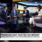 """Strzelnica w każdej gminie? """"Debata Młodych"""" w TVN24 BiS."""