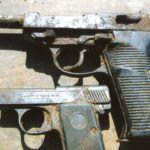 Walther P38 i Liliput znaleziony w poniemieckiej stodole