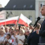 """Prezydent Andrzej Duda: """"…chcemy, aby Polacy umieli posługiwać się bronią…"""""""