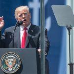 Przemówienie prezydenta Donalda J. Trumpa przy Pomniku Powstania Warszawskiego na Placu Krasińskich