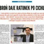 Wywiad z prezesem Ruchu Obywatelskiego Miłośników Broni Andrzejem Turczynem w Tygodniu Katolickim Niedziela