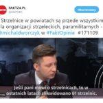 Wiceminister Dworczyk o strzelnicach w rozmowie z Fakt24.pl