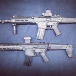 Grot na testach porównawczych z karabinkiem HK 416